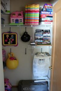 Organizing Our Lives Part 1: The Bonus Room