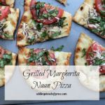 Grilled Margherita Naan Pizza