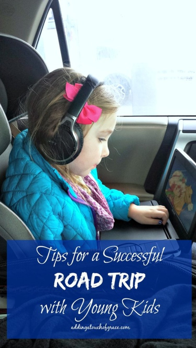 My top 8 tips for a successful road trip with young kids.