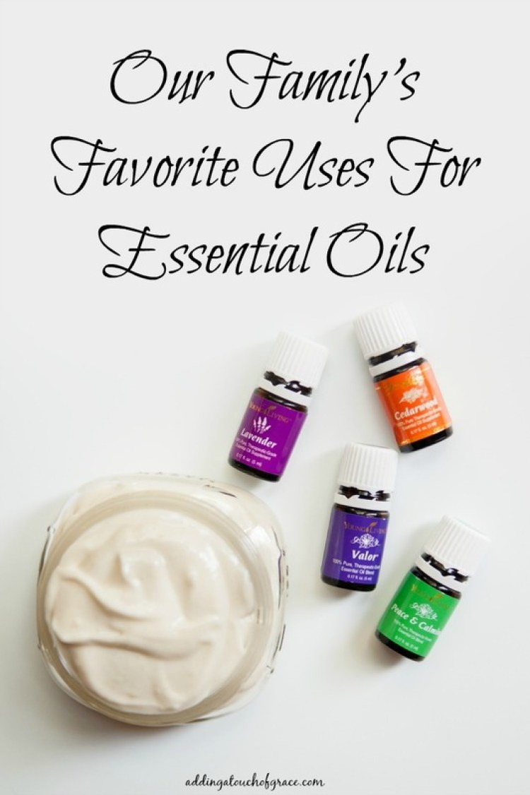 Our family's favorite uses for essential oils and how we incorporate them into our daily lives.