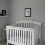 EJ's White, Gray and Navy Baby Boy Nursery (finally!)