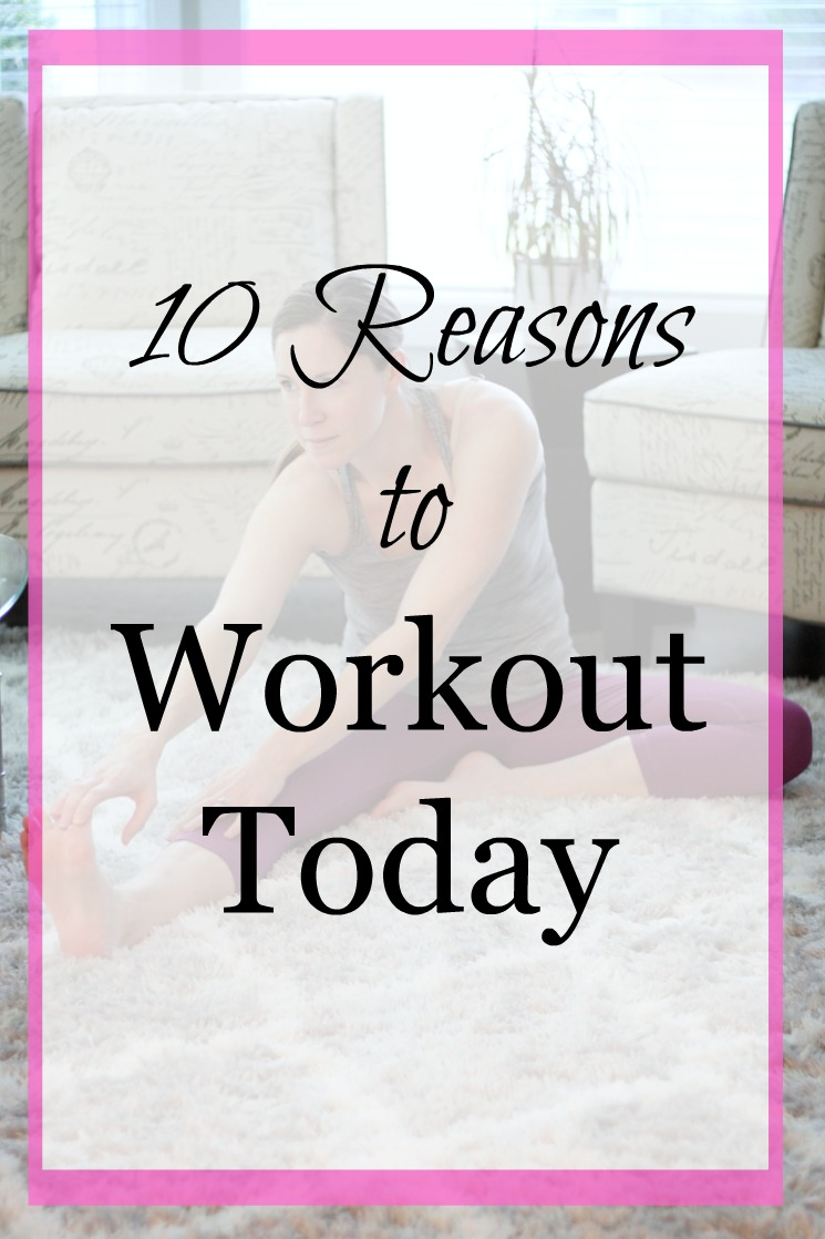 No more excuses! These 10 reasons to workout today will having you ready to hit the weights immediately!