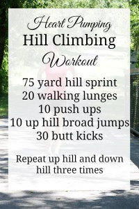 Hill Climbing Workout to Get Your Heart Pumping