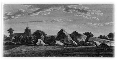 Neolithic long barrow at Addington, Kent