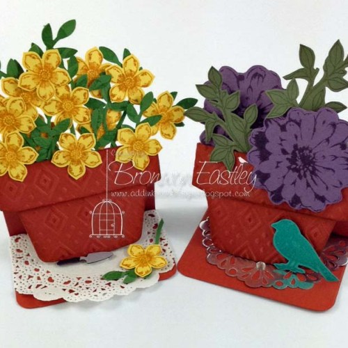 Small Flower Pot Tutorial