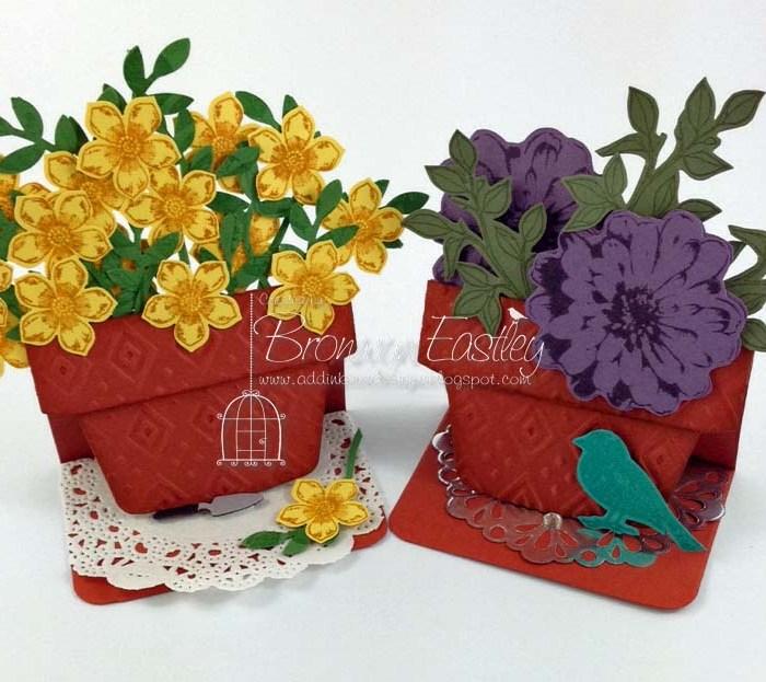 Small Flower Pot Tutorial