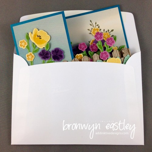 Folds easily into a standard card sized envelope.