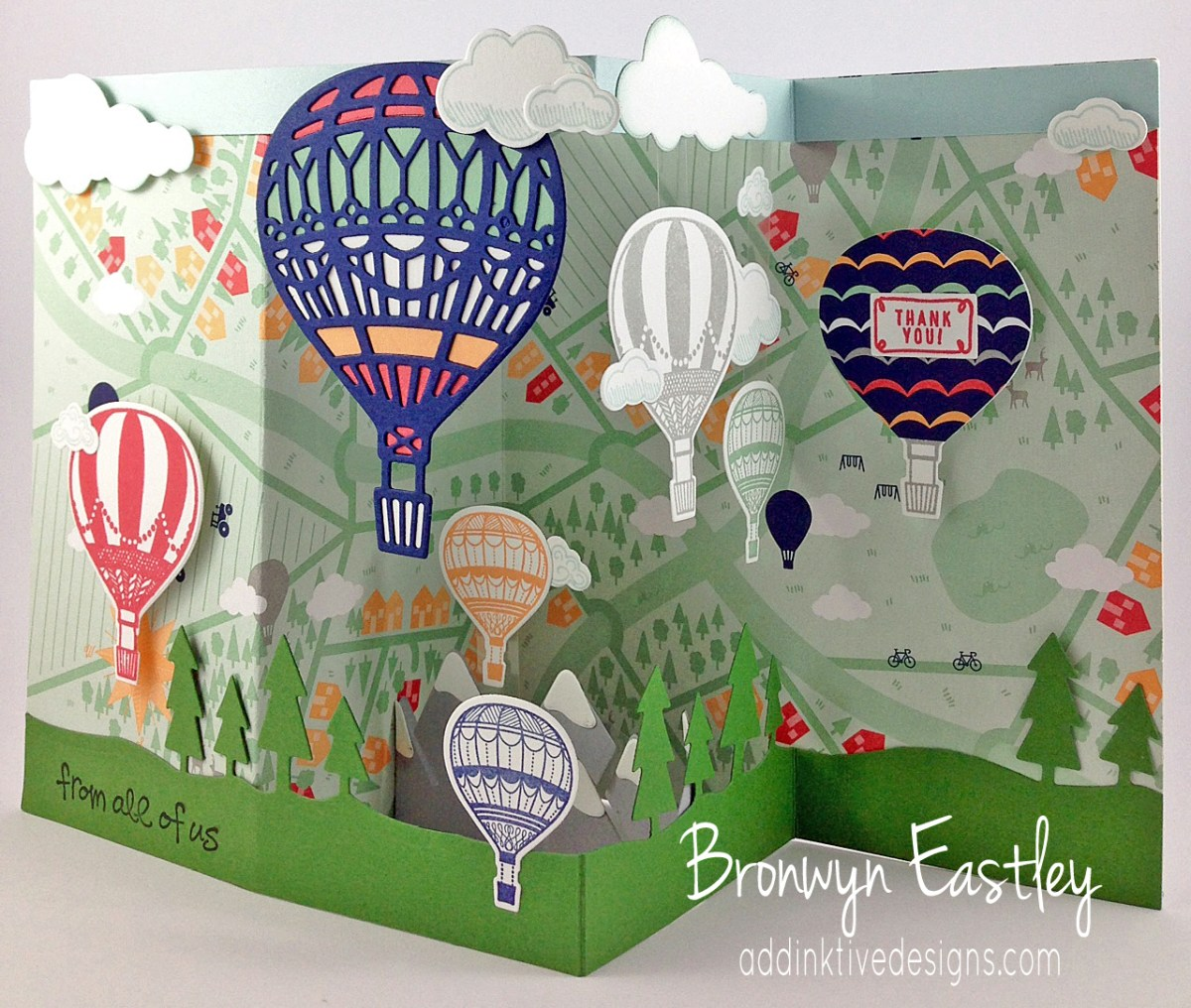 Lift Me Up Z-Fold Box Card Tutorial