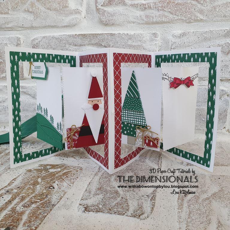 The Dimensionals November 2020 Tutorial Bundle Christmas Cards