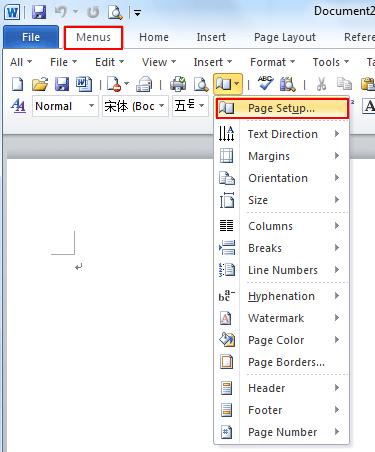 Cara Menghapus Next Page Di Word : menghapus, Where, Setup, Microsoft, 2007,, 2010,, 2013,, 2016,