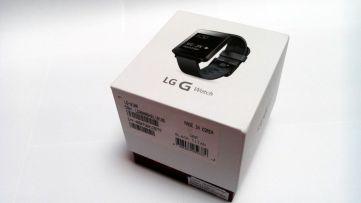 Verpackung der G Watch