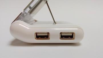 die USB Anschlüsse