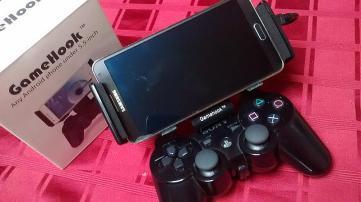 Gamehook mit Smartphone