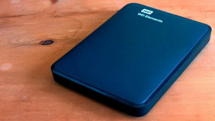 Externe USB Festplatte WD Elements