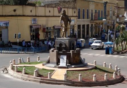 gondar statue