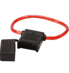inline maxi fuse holder with waterproof cover [ 900 x 900 Pixel ]