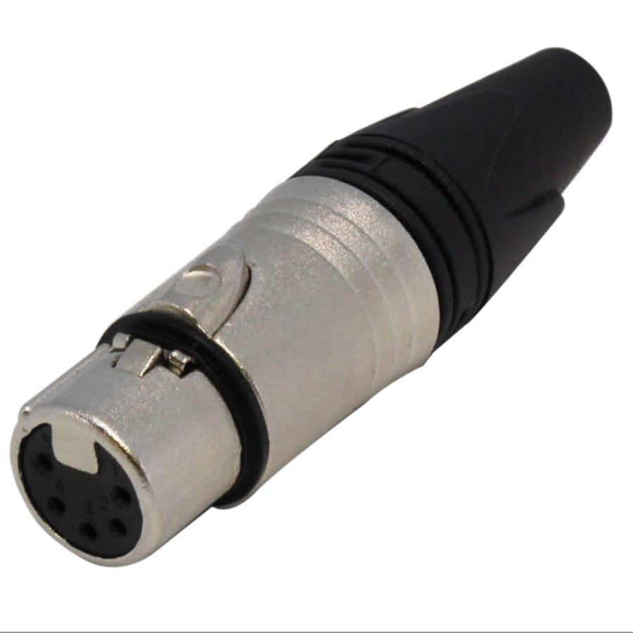 medium resolution of xlr female 5 pin connector