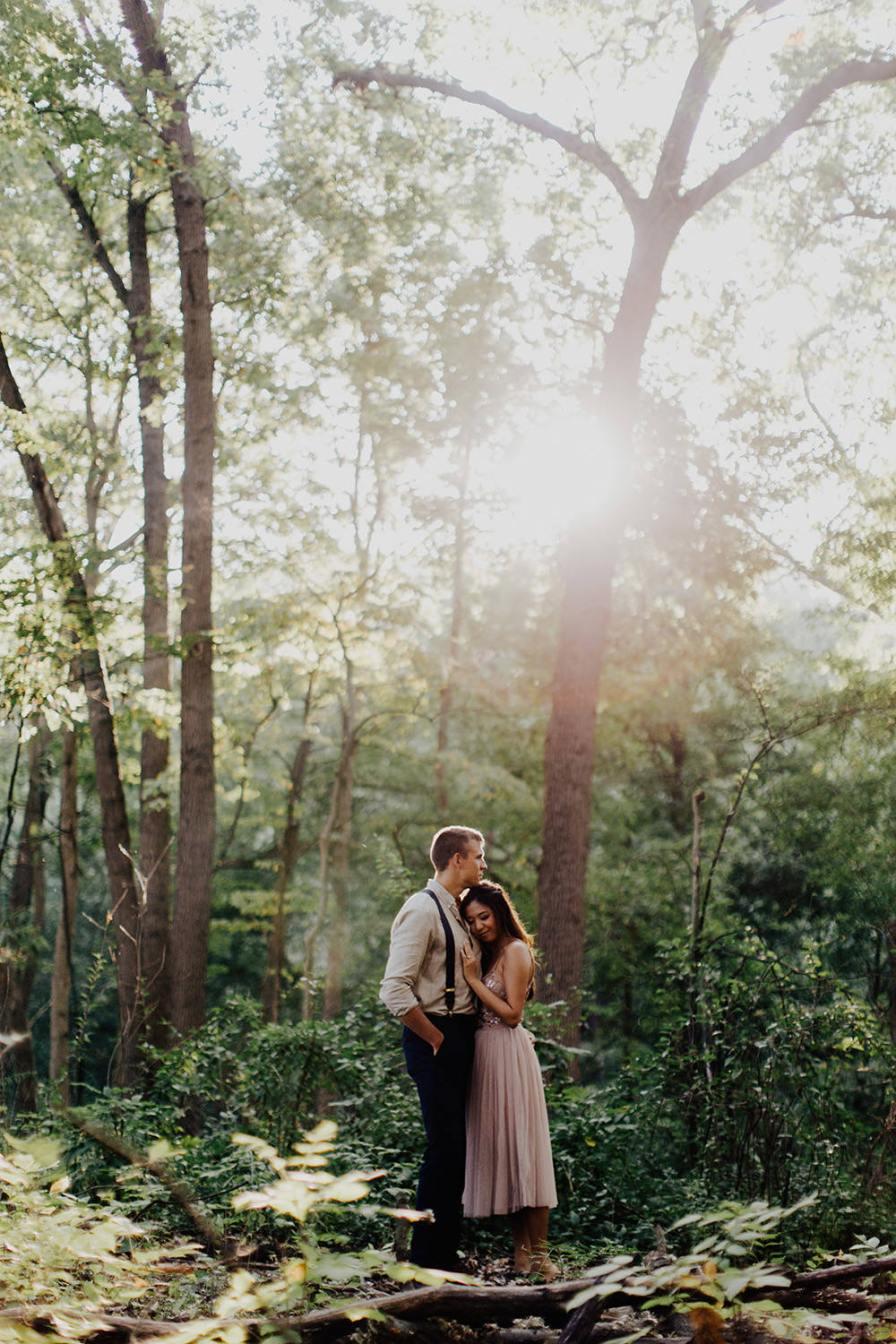 ann-arbor-michigan-foggy-morning-engagement-session-nichols-arboretum-11