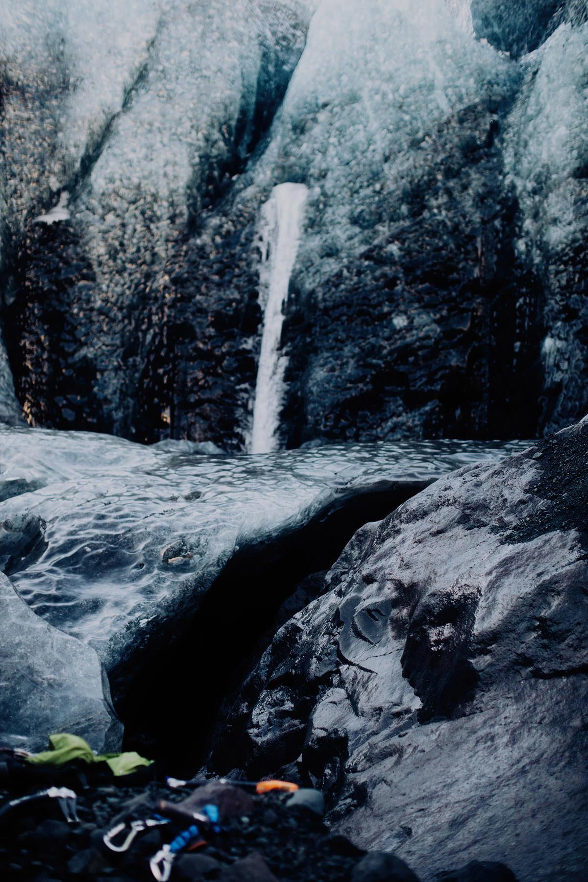 ice-cave-elopement-iceland-water-fall-glacier