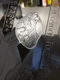 Anatomical heart chocolate mould...so perfect!