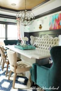 Whimsical Elegant Dining Room - Addison's Wonderland