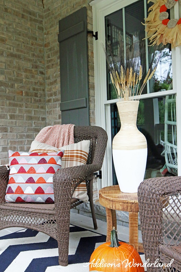 Fall Front Porch Makeover  Addisons Wonderland