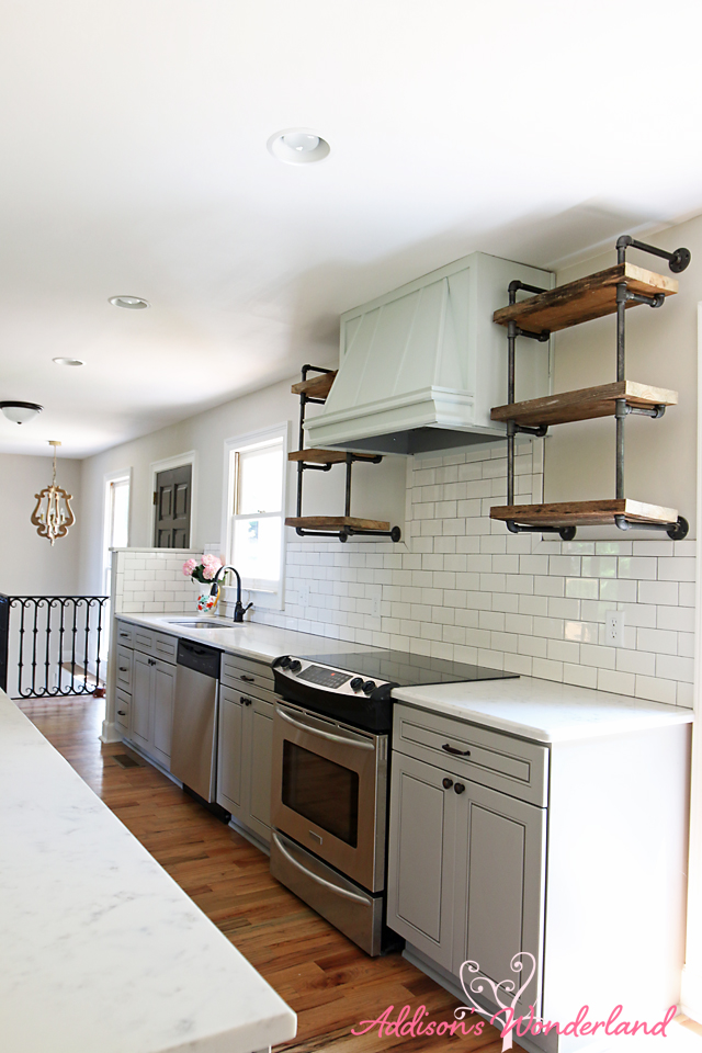subway tiles in kitchen cost to reface cabinets lakehouse gray white tile 19 addison s