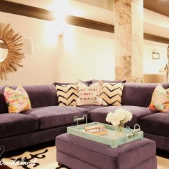 Gray Sofa Navy Chairs Leather Furniture Choice My Blue Velvet Sectional Obsession - Addison's Wonderland