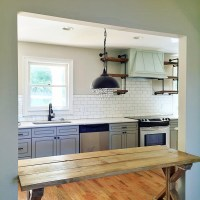 """How To"" Shiplap Wall & Open Pipe Shelving - Addison's ..."
