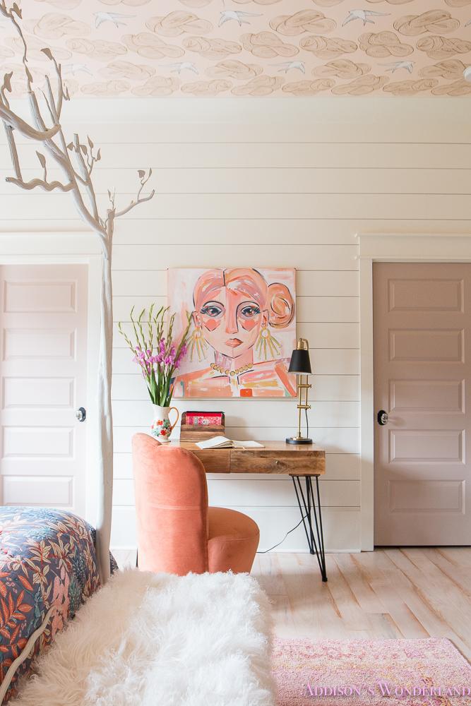 The Cutest Artwork Young Teen Girls Bohemian Bedroom
