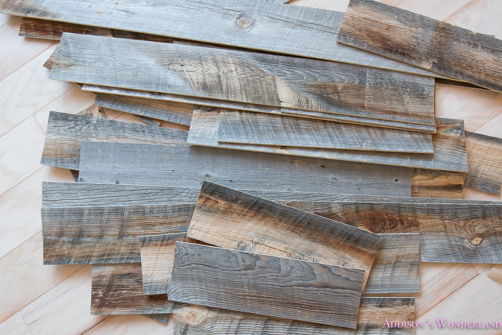 our reclaimed weathered wood
