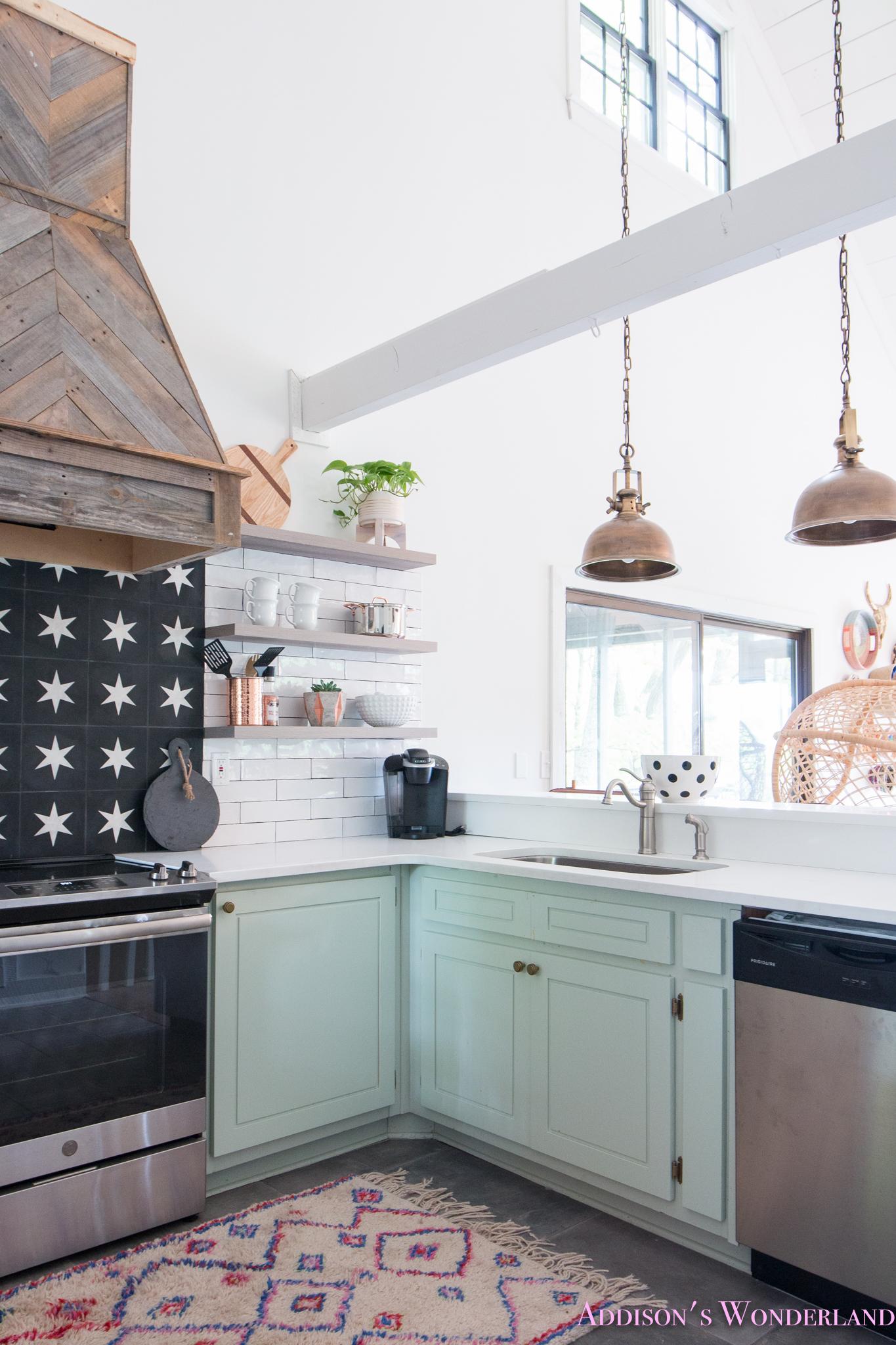 Backsplash Kitchen White Tile