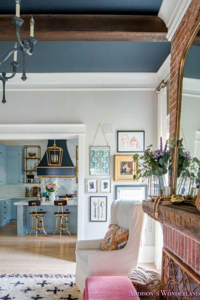 Our New Living Room Doorway Gallery Wall Reveal
