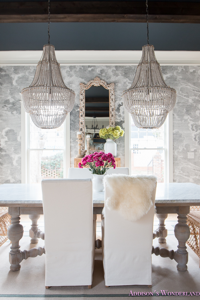 black parsons chair hanging ace hardware our elegant and fun vintage boho dining room reveal!