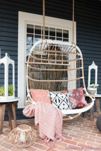 Our Fun & Colorful Bohemian Spring Porch Update Reveal...