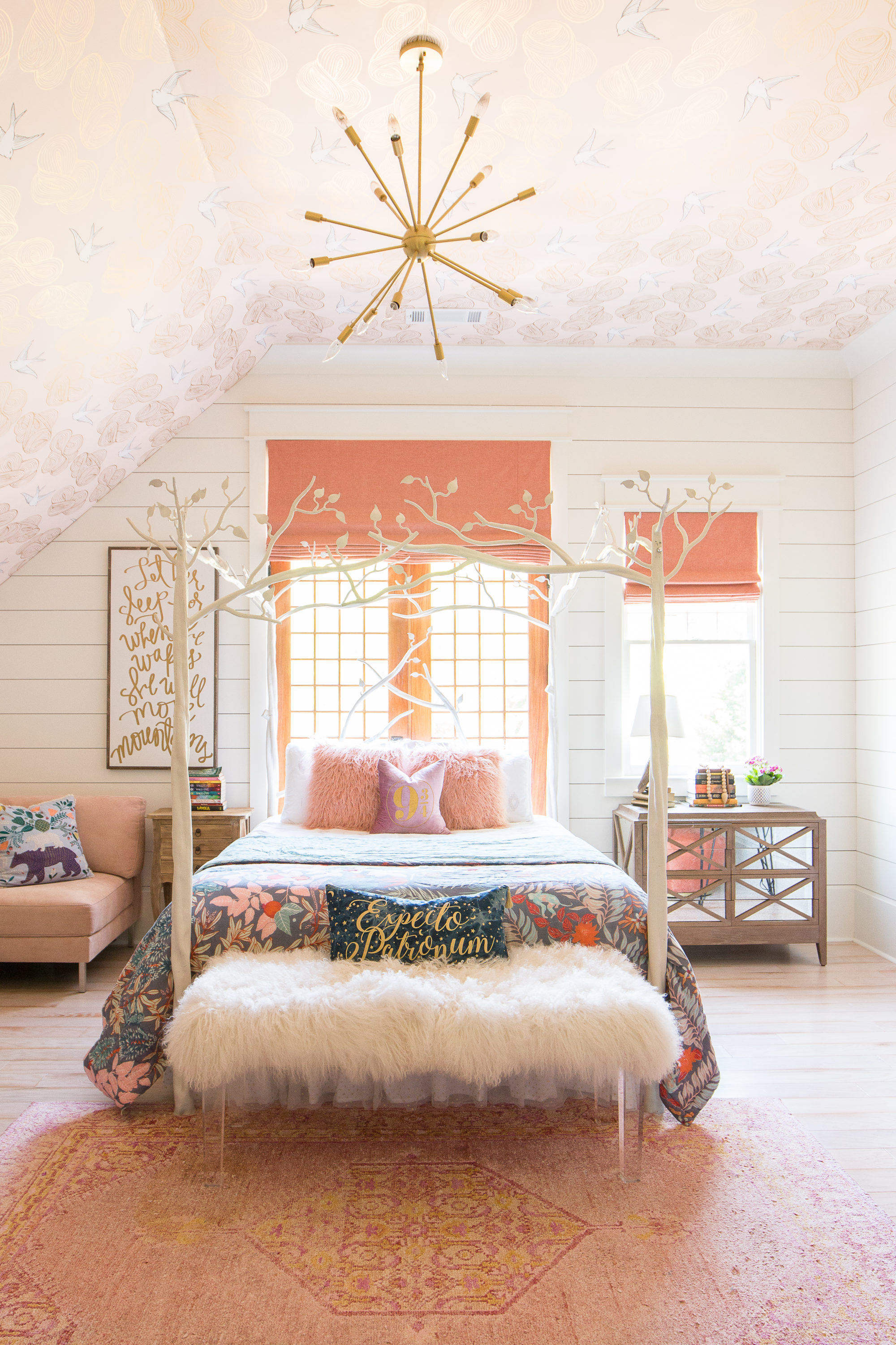 Fall Decor Wallpaper An Update On Addison S Peachy Pink Tween Bedroom Amp Toy