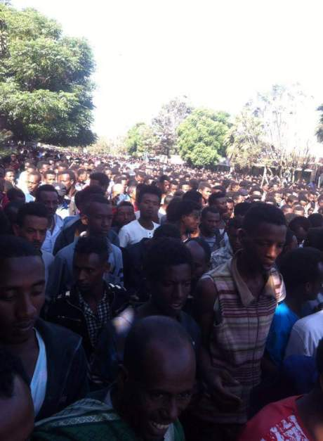 At least four people killed, several injured when security forces open fire at IDP camp in eastern Ethiopia; stay at home boycott happening in various cities in Oromia. 2