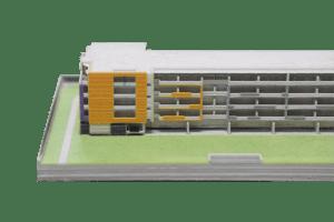 3D printing building