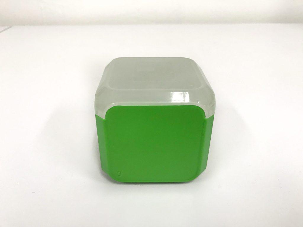 vacuum cast green box