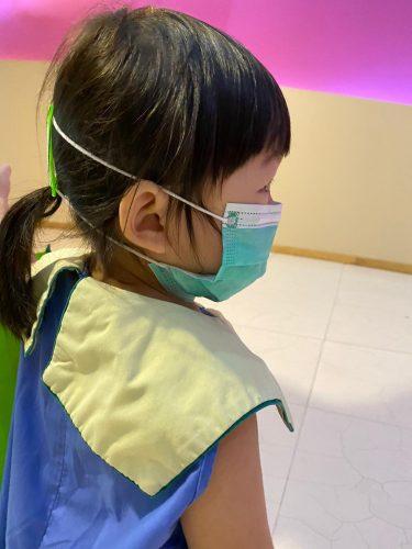 surgical mask strap kids side