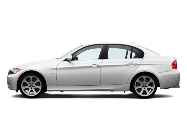 2008 BMW 335i Left Side View