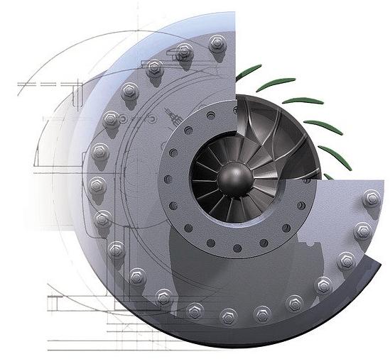 3D mechanical component