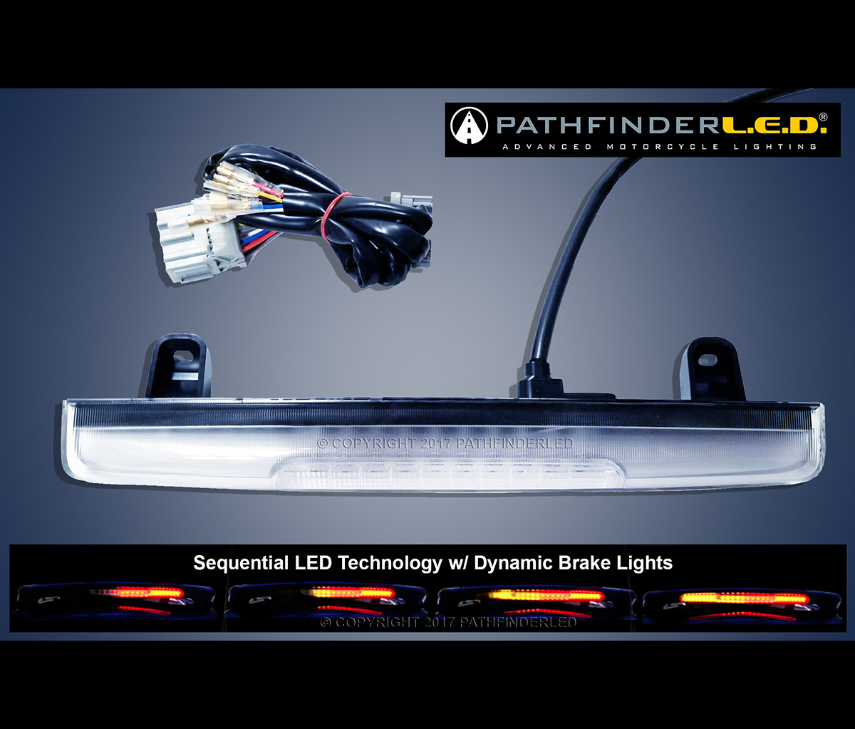 hight resolution of gl1800 12 17 sequential led spoiler light w dynamic b r