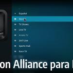 ▷ Addon Alliance en Kodi 2019 v17 Krypton: ↓ Nueva versión ↓
