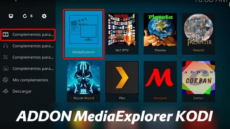 descargar addon mediaexplorer kodi 2019