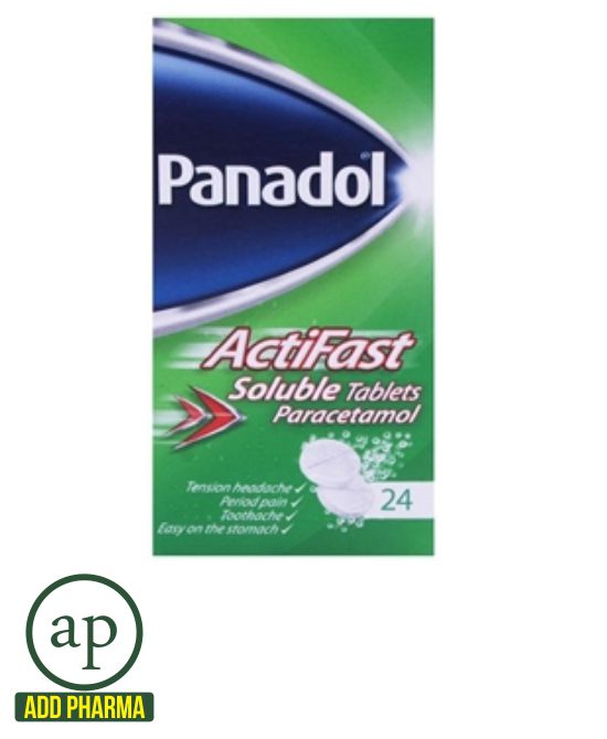 Panadol ActiFast Soluble 24 Tablets