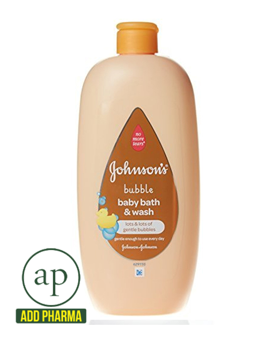Johnson's Baby 2-in-1 Bubble Bath and Wash - 500 ml