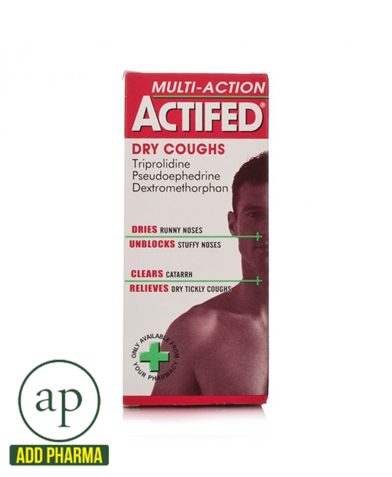 Actifed Multi-Action Dry Coughs - 100ml
