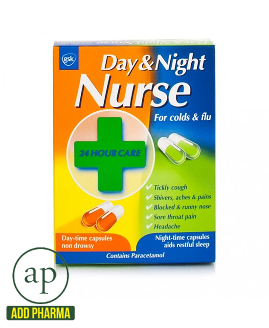 Day & Night Nurse Capsules Duo 24s - 24 Capsules ...