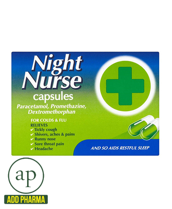 Night Nurse Capsules 10s - 10 Capsules